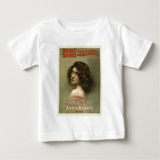 vintage-hurly-burly-poster. baby T-Shirt