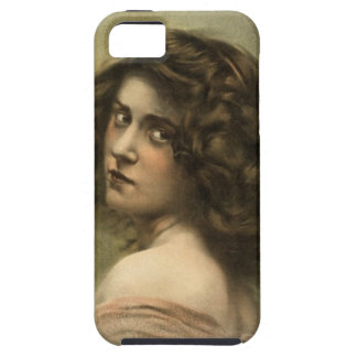 vintage-hurly-burly-poster iPhone 5 protector