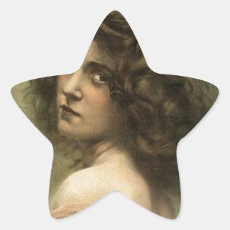 vintage-hurly-burly-poster. colcomanias forma de estrellaes personalizadas