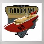 Vintage Hydroplane federation Poster