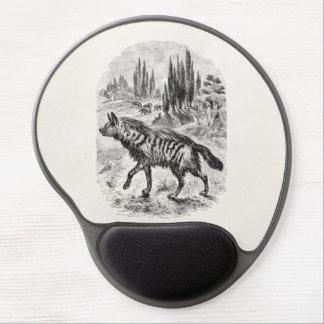 Vintage Hyena Dog 1800s Hyenas Illustration Gel Mouse Pad