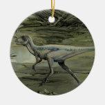 Vintage Hypsilophodon Dinosaur Christmas Ornament