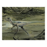 Vintage Hypsilophodon Dinosaur Invitations