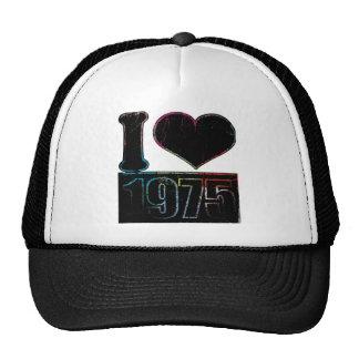 Vintage I heart 1975 Hat
