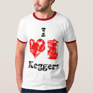 Vintage I Heart Keggers T-Shirt