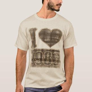 Vintage I love 1980 #2 T-Shirt
