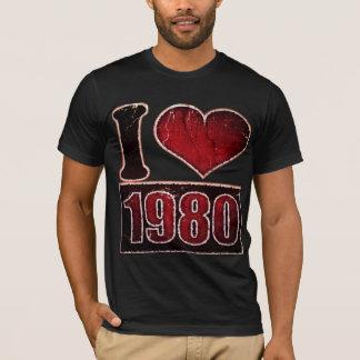 Vintage I love 1980 T-Shirt