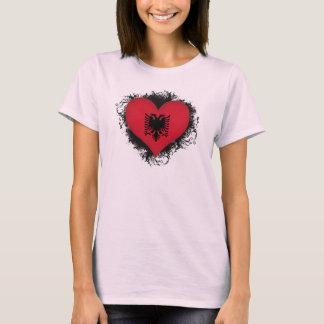 Vintage I Love Albania T-Shirt