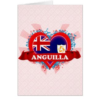 Vintage I Love Anguilla Cards