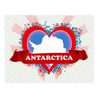 Vintage I Love Antarctica Postcard