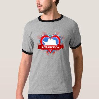 Vintage I Love Antarctica T Shirt