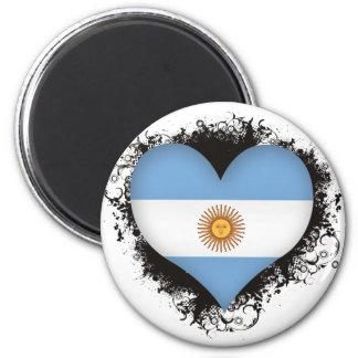 Vintage I Love Argentina Magnets