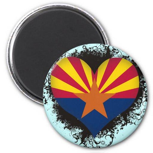 Vintage I Love Arizona Magnet