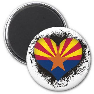 Vintage I Love Arizona Magnets