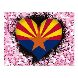 Vintage I Love Arizona Postcards