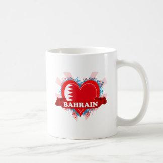 Vintage I Love Bahrain Mugs