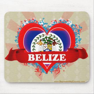 Vintage I Love Belize Mouse Pad