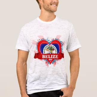 Vintage I Love Belize T-Shirt