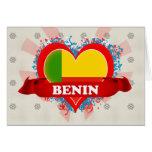 Vintage I Love Benin Card