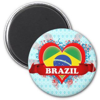Vintage I Love Brazil Magnets