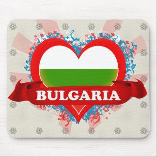 Vintage I Love Bulgaria Mouse Pad