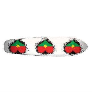 Vintage I Love Burkina Faso Skate Decks