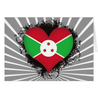 Vintage I Love Burundi Cards