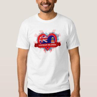 Vintage I Love Cayman Islands Tee Shirt
