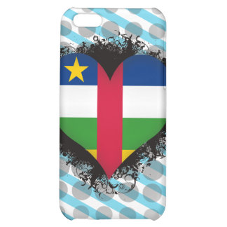 Vintage I Love Central African Republic iPhone 5C Case