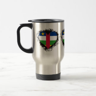 Vintage I Love Central African Republic Mugs