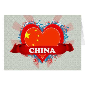 Vintage I Love China Cards