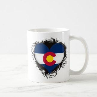 Vintage I Love Colorado Coffee Mug