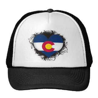 Vintage I Love Colorado Trucker Hat