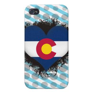 Vintage I Love Colorado iPhone 4/4S Cases