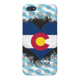 Vintage I Love Colorado iPhone 5 Cover