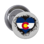 Vintage I Love Colorado Pins