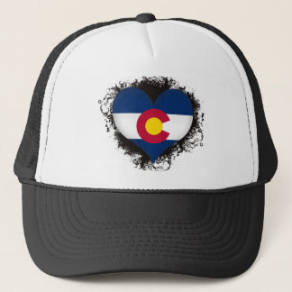 Vintage I Love Colorado Trucker Hat