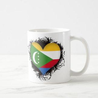 Vintage I Love Comoros Coffee Mug