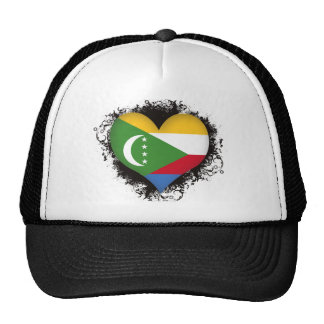 Vintage I Love Comoros Hats