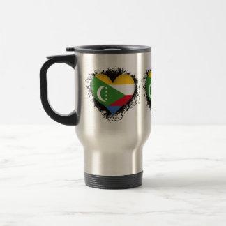 Vintage I Love Comoros Mug