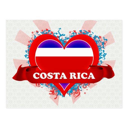 Vintage I Love Costa Rica Postcards