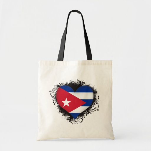 Vintage I Love Cuba Bag