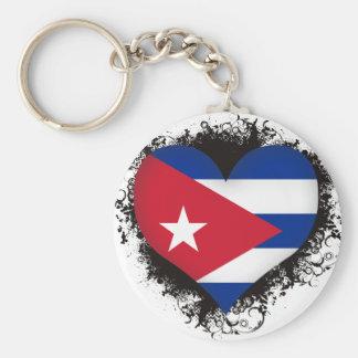 Vintage I Love Cuba Keychains