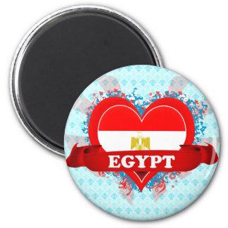 Vintage I Love Egypt Magnet