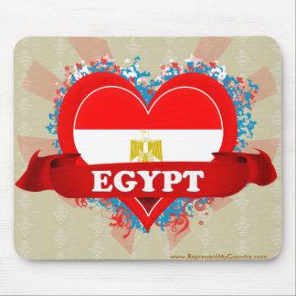 Vintage I Love Egypt Mouse Pad