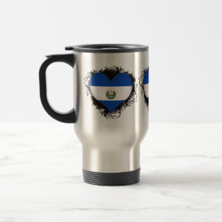 Vintage I Love El Salvador 15 Oz Stainless Steel Travel Mug