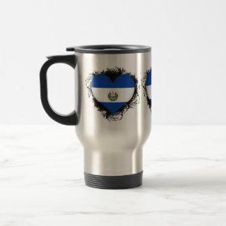 Vintage I Love El Salvador Coffee Mugs