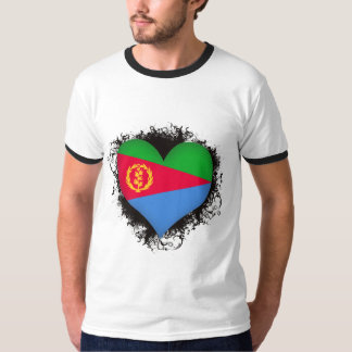 Vintage I Love Eritrea T-shirt
