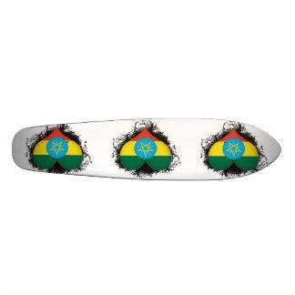 Vintage I Love Ethiopia Skate Board Deck