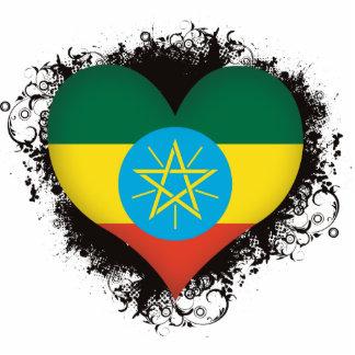 Vintage I Love Ethiopia Statuette